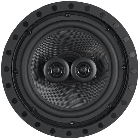 architechr sc 822f 8 2 way dual voice coil single point stereo frameless in ceiling wall loudspeaker