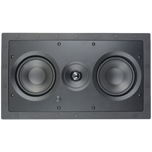 architechr se 525lcrsf 5 25 premium series 2 way frameless lcr in wall speaker