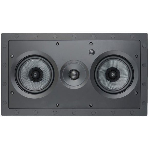 architechr se lcrsf 5 25 2 way frameless lcr in wall speaker