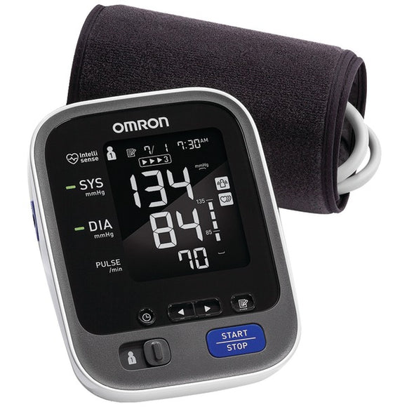 Omron BP786 10 Series Advanced Accuracy Upper Arm Blood Pressure Monitor with Bluetooth(R) Connectivity