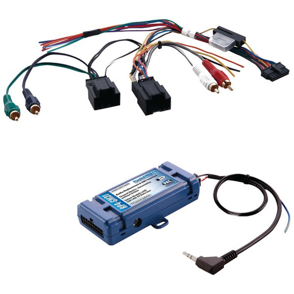 All-in-One Radio Replacement & Steering Wheel Control Interface (For Select GM(R) vehicles with CANbus)