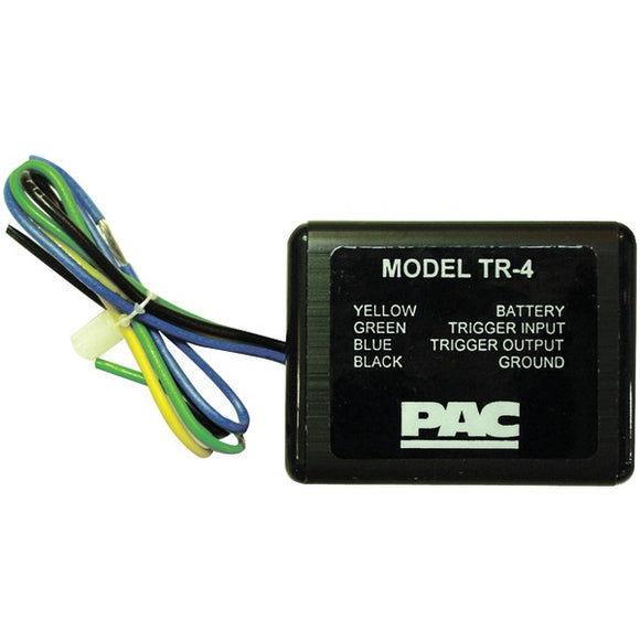 Low-Voltage Remote Turn-on Trigger