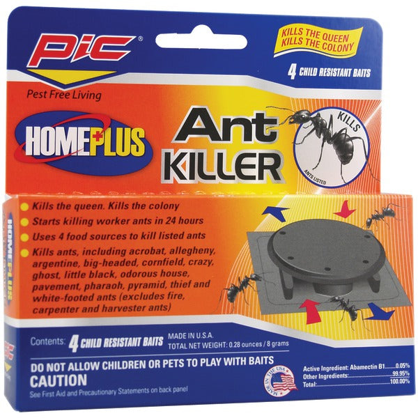 Pic(r) PIC(R) AT 4AB Plastic Ant Killing Bait Stations