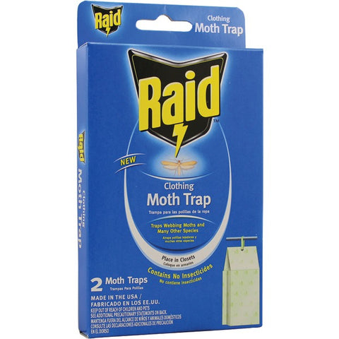 PIC(R) CMOTHRAID Raid Clothing Moth Trap, 2 pk