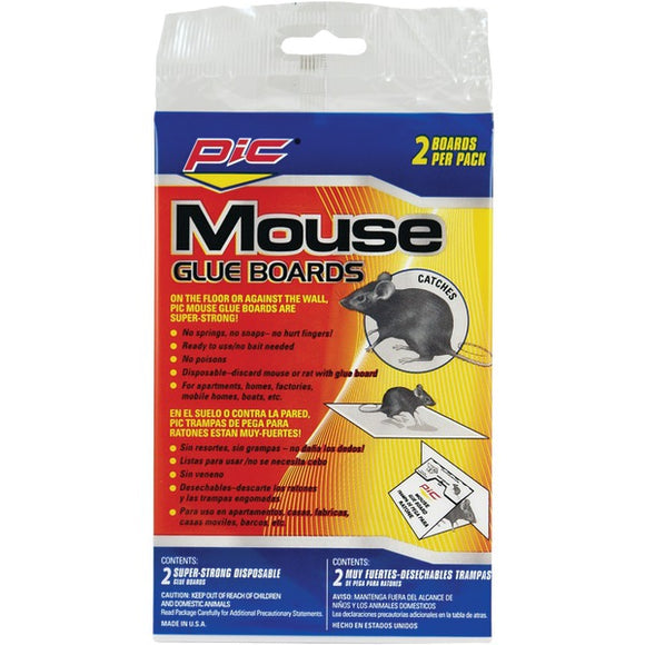 Pic PIC GMT2F Glue Mouse Boards, 2 pk