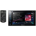"Pioneer  AVH 190DVD 6.2"" Double DIN In Dash DVD Receiver with WVGA Clear Resistive Touchscreen"