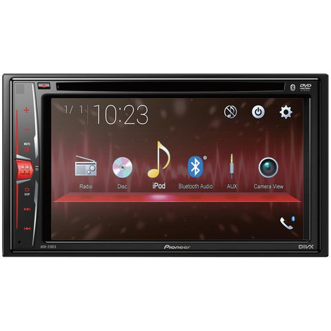 "Pioneer AVH-210EX 6.2"" Double-DIN In-Dash DVD Receiver with Bluetooth"