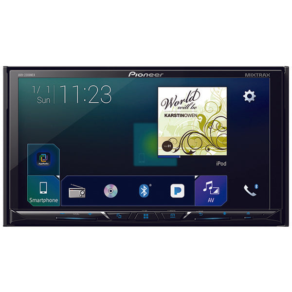 "Pioneer  AVH 2300NEX 7"" Double DIN In Dash NEX DVD Receiver with Bluetooth(R), Apple CarPlay(TM), Android Auto(TM), FLAC Audio & SiriusXM(R) Ready"