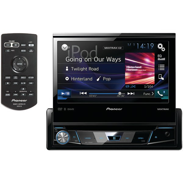 "Pioneer  AVH X7800BT 7"" Single DIN In Dash DVD Receiver with Flip out Display, Bluetooth(R), Siri(R) Eyes Free, Spotify(R) & AppRadio One(TM)"