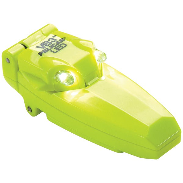 Pelican(tm) Pelican(TM) 2220 010 245 9 Lumen VB3 2220C Small Clip on LED Flashlight with Flip up Activation (Yellow)