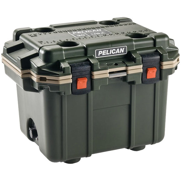 Pelican(tm) Pelican(TM) 30Q 2 ODTAN 30 Quart Elite Cooler (OD Green with Tan Trim)
