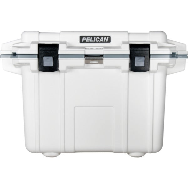 Pelican 50Q-1-DKGRYEGRN White & Gray Elite Cooler (50 Quarts)