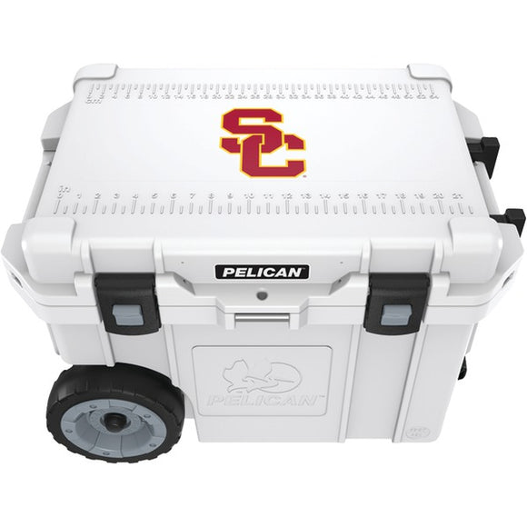 Pelican(tm) Pelican(TM) CC 19318 45QWT 45 Quart University of Southern California Trojans(R) Elite Wheeled Cooler