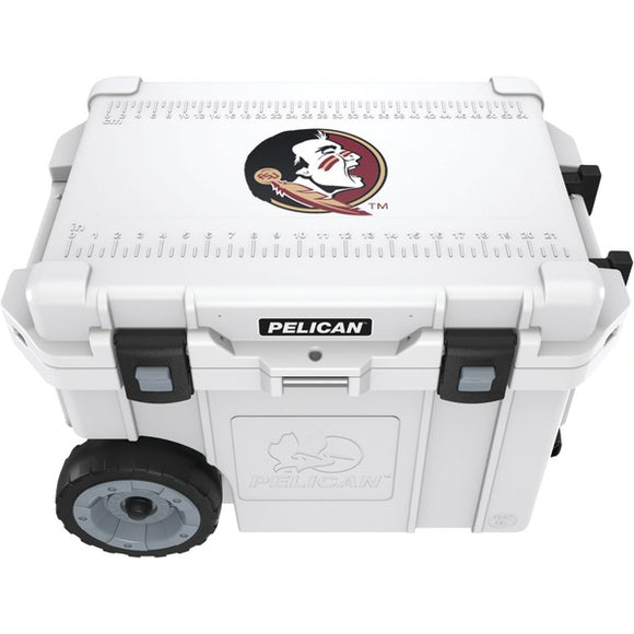 Pelican(tm) Pelican(TM) CC 19326 45QWT 45 Quart Florida State University Seminoles(R) Elite Wheeled Cooler