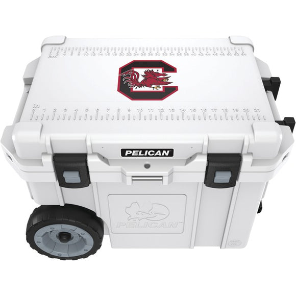 Pelican(tm) Pelican(TM) CC 19329 45QWT 45 Quart University of South Carolina Gamecocks(R) Elite Wheeled Cooler