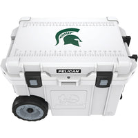 Pelican(tm) Pelican(TM) CC 19334 45QWT 45 Quart Michigan State University Spartans(R) Elite Wheeled Cooler