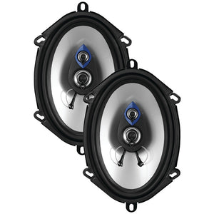 "Planet Audio(r) Planet Audio(R) PL57 Pulse Series 3 Way Speakers (5"" x 7"", 200 Watts max)"