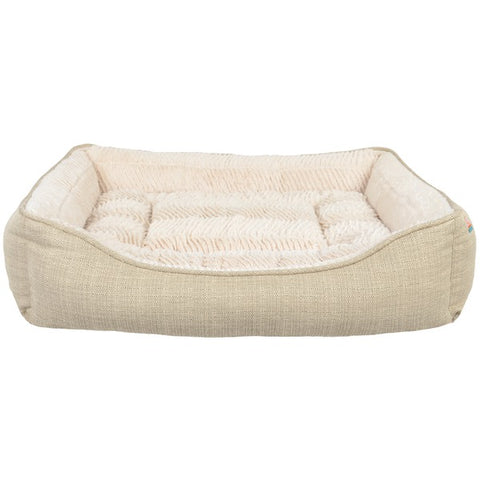 Animal Planet(R) 12321-02 Rectangle Pet Bed (Faux Linen)