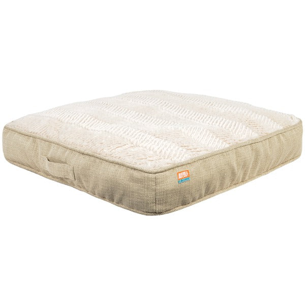 animal planetr 12621 02 gusset pet bed faux linen