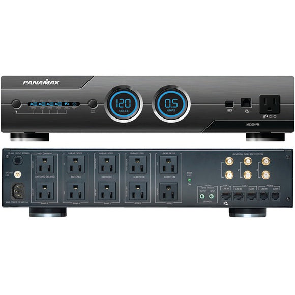 Panamax Panamax M5300 PM 11 Outlet MAX 5300 PM Home Theater Power Conditioner