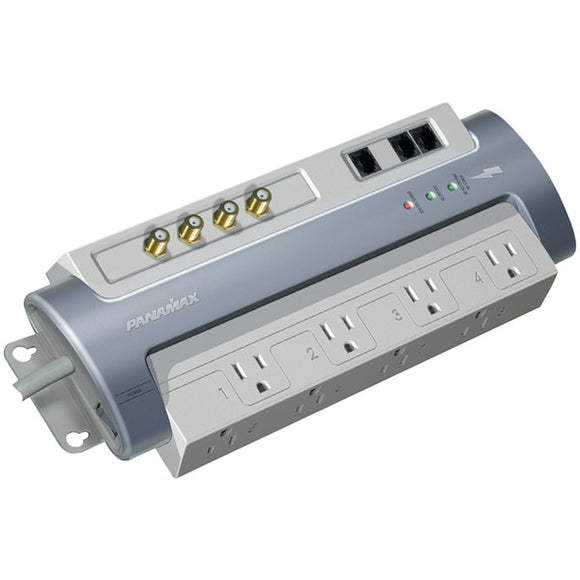Panamax Panamax M8 AV 8 Outlet MAX M8 AV Surge Protector with Satellite, CAT 5 & Telephone Protection