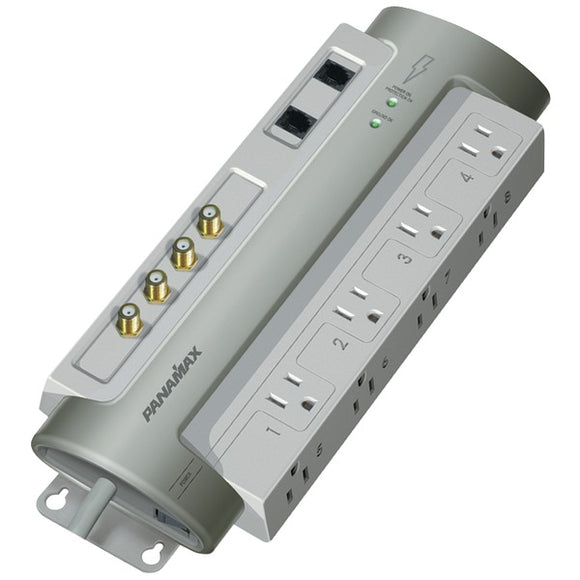 Panamax PM8-AV 8-Outlet PowerMax PM8-AV Surge Protector with Satellite & CAT-5 Protection