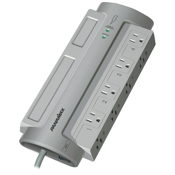 Panamax PM8-EX 8-Outlet PowerMax PM8-EX Surge Protector (without Satellite & CAT-5 Protection)