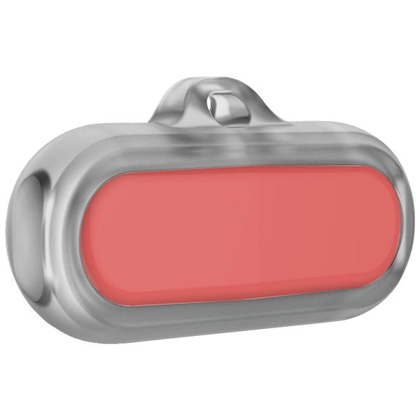 Poof SYNC66-0003 Bean Waterproof Pet Activity Tracker (Coral)