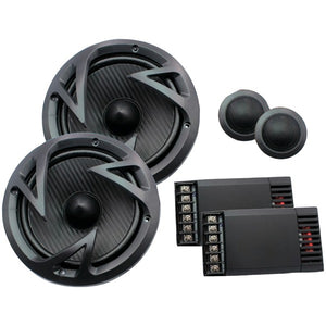 "Power Acoustik(r) Power Acoustik(R) EF 60C Edge Series 6.5"" 500 Watt 2 Way Component Speaker System"
