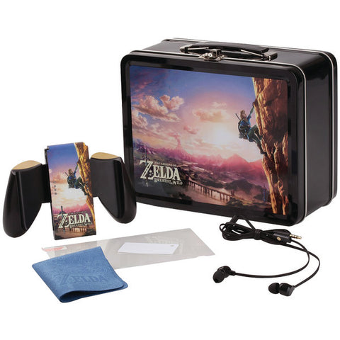 PowerA 1503002-01 Legend of Zelda: Breath of the Wild Lunchbox Kit for Nintendo Switch