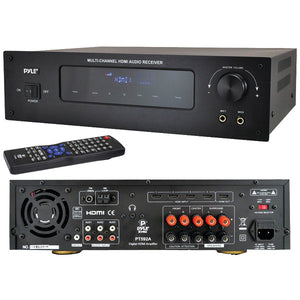Pyle(r) Pyle(R) PT592A Bluetooth(R) 5.1 Channel HDMI(R) Digital Stereo Receiver Amp