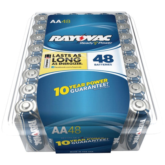 Rayovac(r) RAYOVAC(R) 815 48PPTF Alkaline Batteries Reclosable Pro Pack (AA, 48 pk)
