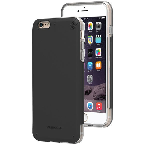 Puregear(r) PureGear(R) 11073VRP DualTek(R) PRO Case for iPhone(R) 6 Plus 6s Plus (Black Clear)