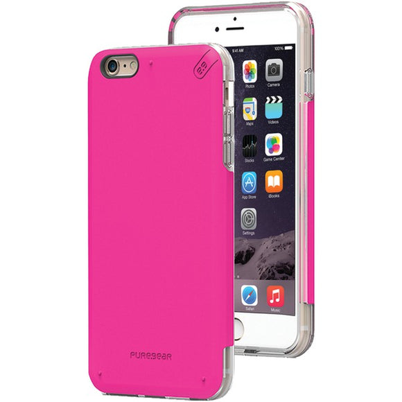 Puregear(r) PureGear(R) 11075VRP DualTek(R) PRO Case for iPhone(R) 6 Plus 6s Plus (Pink Clear)