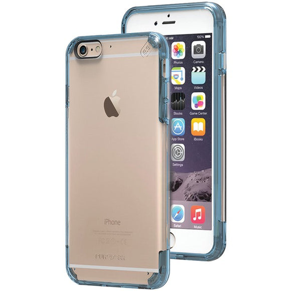 Puregear(r) PureGear(R) 11201VRP Slim Shell PRO Case for iPhone(R) 6 Plus 6s Plus (Clear Blue)