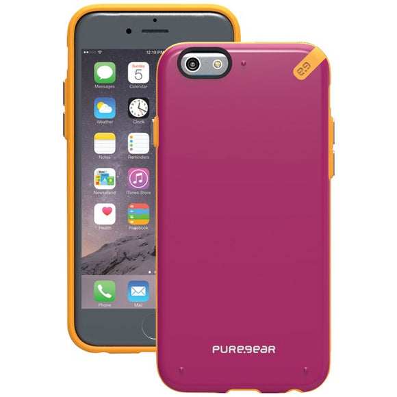 Puregear(r) PureGear(R) 98098VRP Slim Shell Case for iPhone(R) 6 6s (Sunset Pink)