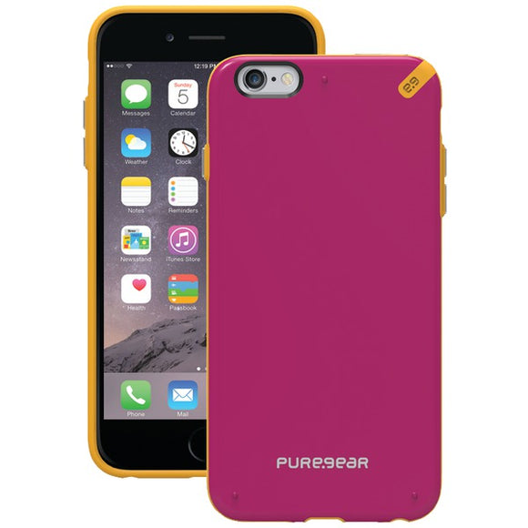 Puregear(r) PureGear(R) 98945VRP Slim Shell Case for iPhone(R) 6 Plus 6s Plus (Sunset Pink)