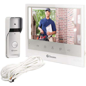 "Swann(TM) SWADS-DP885C-US Wired Doorphone with 7"" Monitor"