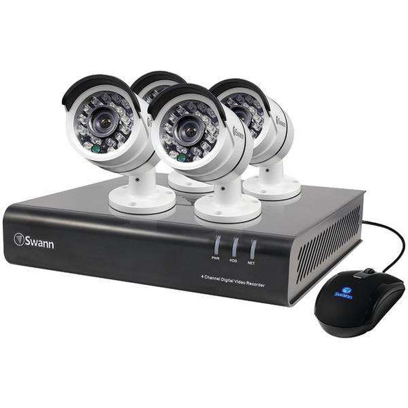 Swann SWDVK-445004-US 4-Channel 1080p DVR with 4 PRO-T855 Cameras