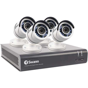 Swann(TM) SWDVK-445954-US 4-Channel 4595 Series 1080p DVR with 1TB HD & 4 Bullet Cameras