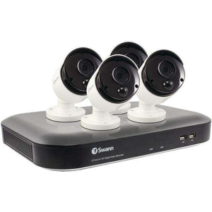 Swann(TM) SWDVK-849804-US 8-Channel 4980 Series 5.0-Megapixel DVR with 2TB HD & 4 PIR Bullet Cameras