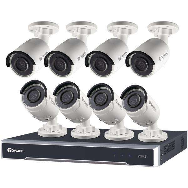 Swann SWNVK-167508-US 16-Channel 7500 Series 5.0-Megapixel NVR with 3TB HD & 8 Bullet Cameras