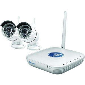 Swann SWNVK-460KH1-US 720p Wi-Fi Security Kit Micro Monitoring System