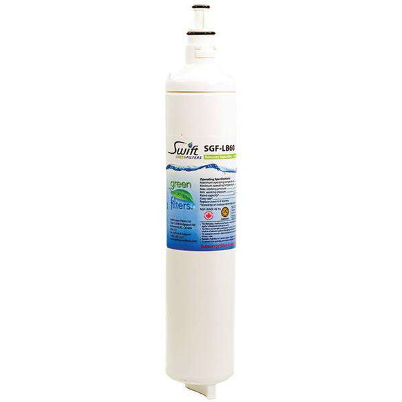 Swift Green Filters(TM) SGF-LB60 Water Filter (Replacement for LG(R) 5231JA2006B, LT 600P & 5231JA2005A)
