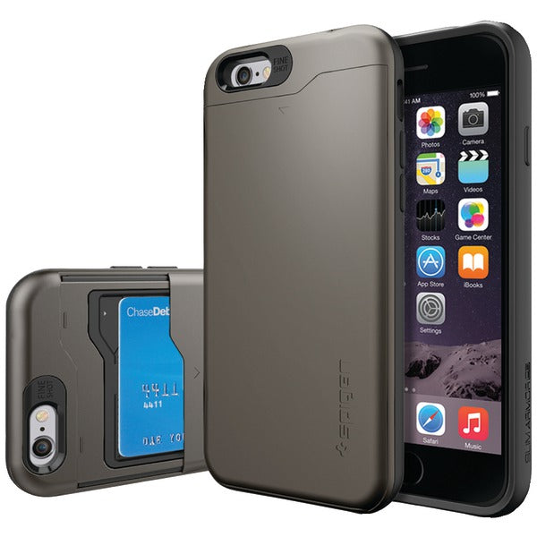 Spigen(R) SGP10964 Slim Armor(R) CS Case for iPhone(R) 6-6s (Gunmetal)