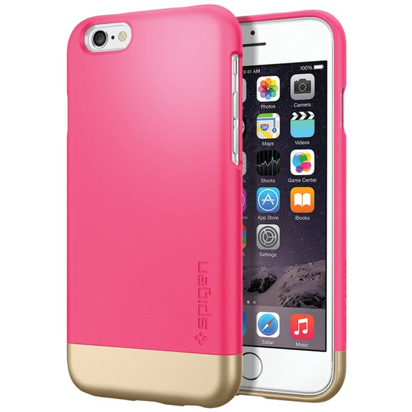 Spigen(R) SGP11045 Style Armor(R) Case for iPhone(R) 6-6s (Azalea Pink)
