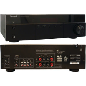 Sherwood(R) RX-4508 200-Watt AM-FM Stereo Receiver with Bluetooth(R)
