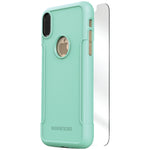 SaharaCase C-A-IX-AQ Classic Protective Kit for iPhone(R) X (Aqua)