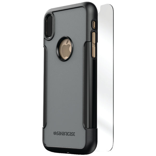 SaharaCase C-A-IX-BK-GY Classic Protective Kit for iPhone(R) X (Mist)