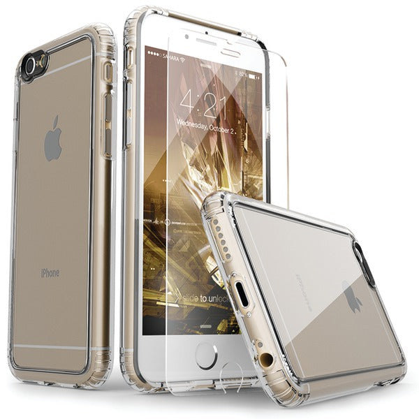 SaharaCase CL-A-I6-CL-CL Clear Protective Kit for iPhone(R) 6-6s